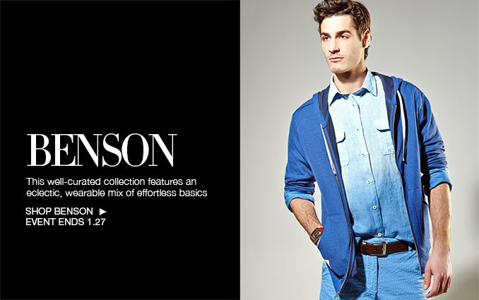 Shop Benson For Men