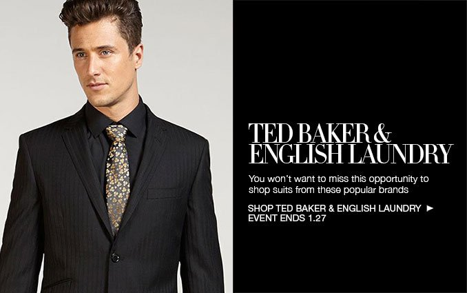 Shop Ted Baker & English Laundry for Men