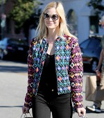 Jaime King's Covet-Worthy Print Jacket