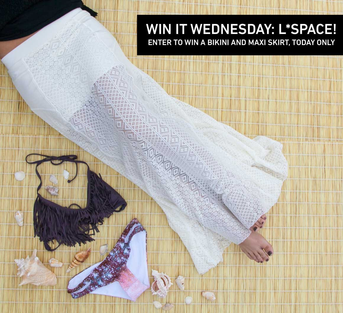 Win It Wednesday: L*Space