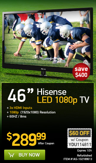 Get Your TV For The Big Game