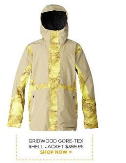Gridwood Gore-tex Shell Jacket $399.95 - Shop now