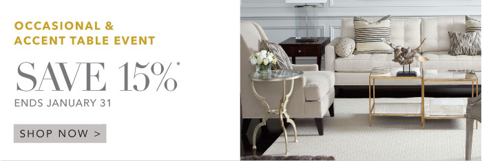 occasional accent table event