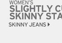 Shop Slightly Curvy Stayshape Skinny Jeans