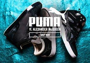 Shop NEW Puma ft. Alexander McQueen