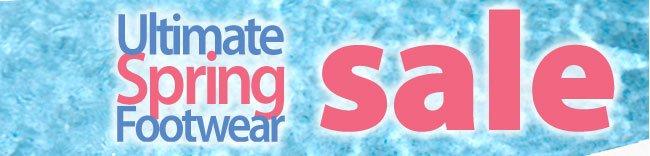 Ultimate Spring Footwear Sale