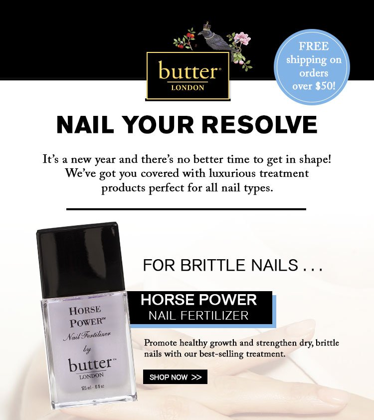 Try our Horse Power Nail Fertilizer!