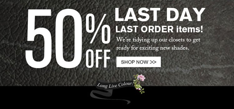 Last day to save 50%!