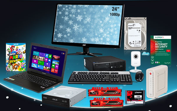 monitor, network retail, surveillance, notebook, and more