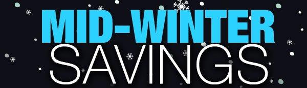 mid-winter savings