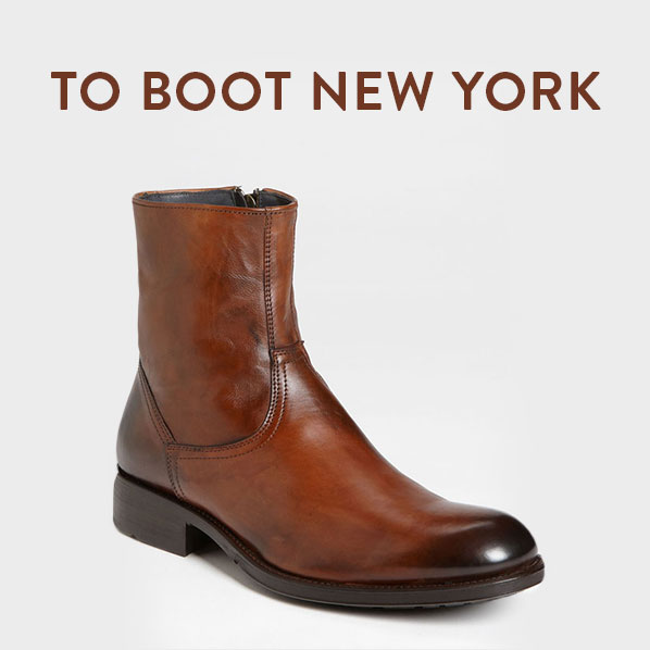 TO BOOT NEW YORK