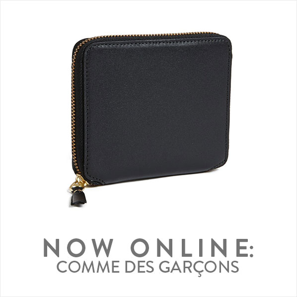 NOW ONLINE: COMME DES GARÇONS