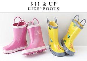 $11 & Up: Kids' Boots