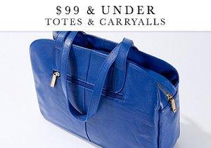 $99 & Under: Totes & Carryalls