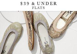 $39 & Under: Flats