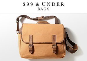 $99 & Under: Bags