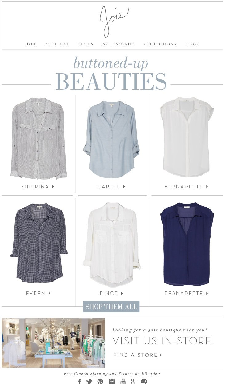 buttoned-up BEAUTIES