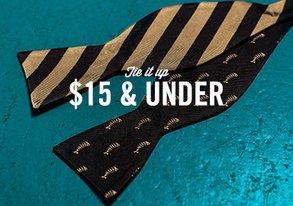 Shop Tie It Up: Essentials $15 & Under