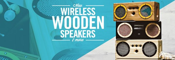 Shop Hear This: NEW Wood Speakers & More