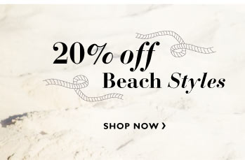 20% off Beach Style