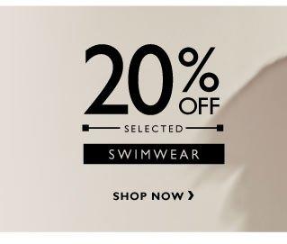 20% off Men's Swiwmwear