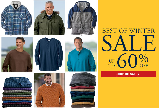 best of winter sale up to 60 percent off - shop the sale