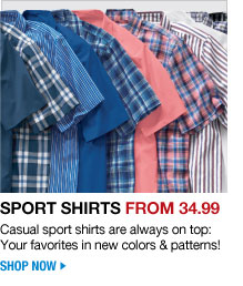 sport shirts from 34.99 - casual sport shirts are always on top: your favorites in new colors & patterns - shop now