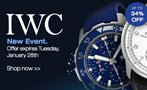 IWC Watches Sale