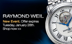 Raymond Weil flash sale
