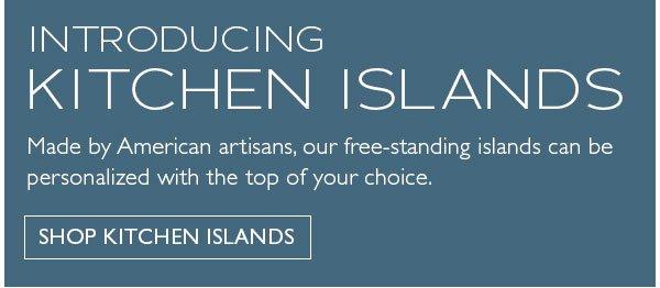 Introducing Kitchen Islands