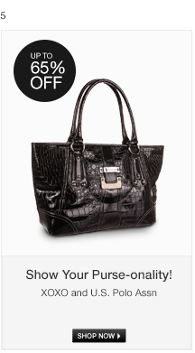 Show Your Purse-onality!
