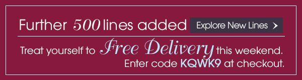 Free Delivery - Enter KQWK9 code at checkout
