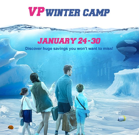 Discover VP Winter Camp, tomorrow on vente-privee