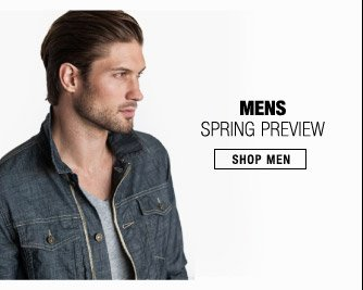 Mens Spring Preview - Shop Men