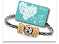 Receive a $15 gift when you purchase one of our 6 New Starter Charm Bracelets
