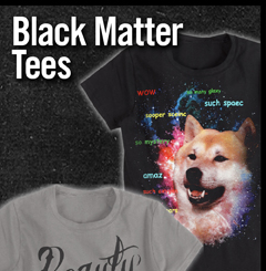 BLACK MATTER TEES