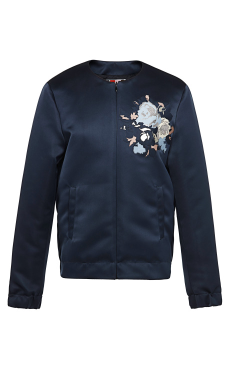 Duchess Satin Bomber