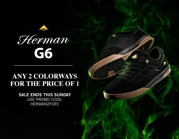 emerica Herman G6 2 for 1