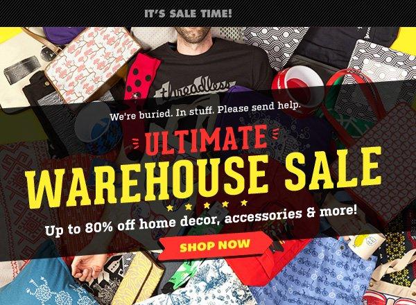 Ultimate Warehouse Sale