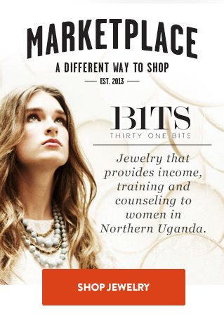 31 bits - jewelry that provides income, training and counseling to women in Northern Uganda. Shop Jewelry