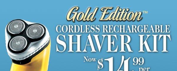 Cordless Shaver Kit