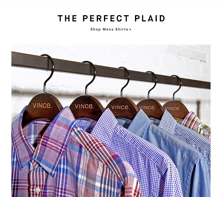 THE PERFECT PLAID - Shop Mens Shirts