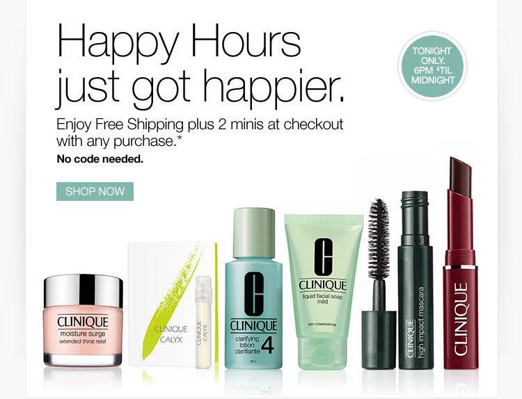 Happy Hours just got happier.
