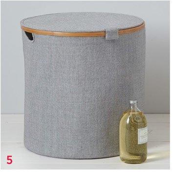 Bamboo Rim Laundry Hamper