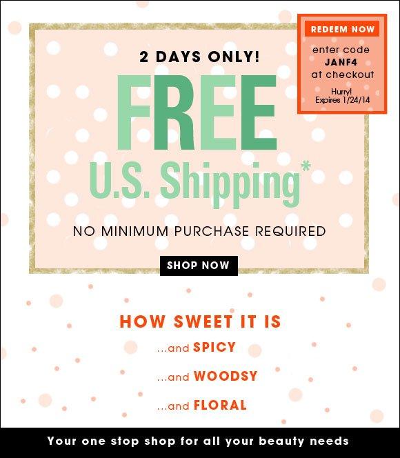 Free Express Shipping* - Guaranteed by Christmas Day