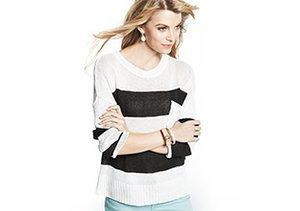 Pre-Spring Sweaters: Black & White