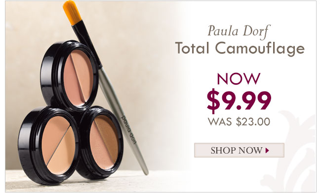 Paula Dorf Total Camouflage Now $9.99