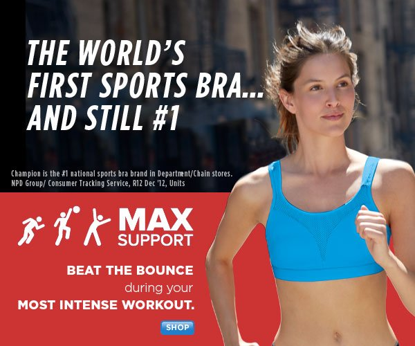 Shop MAX Support Sports Bras
