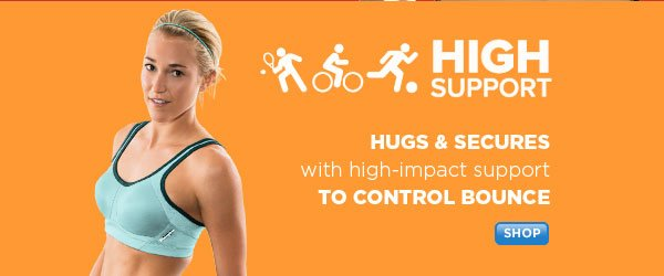 Shop HIGH Support Sports Bras
