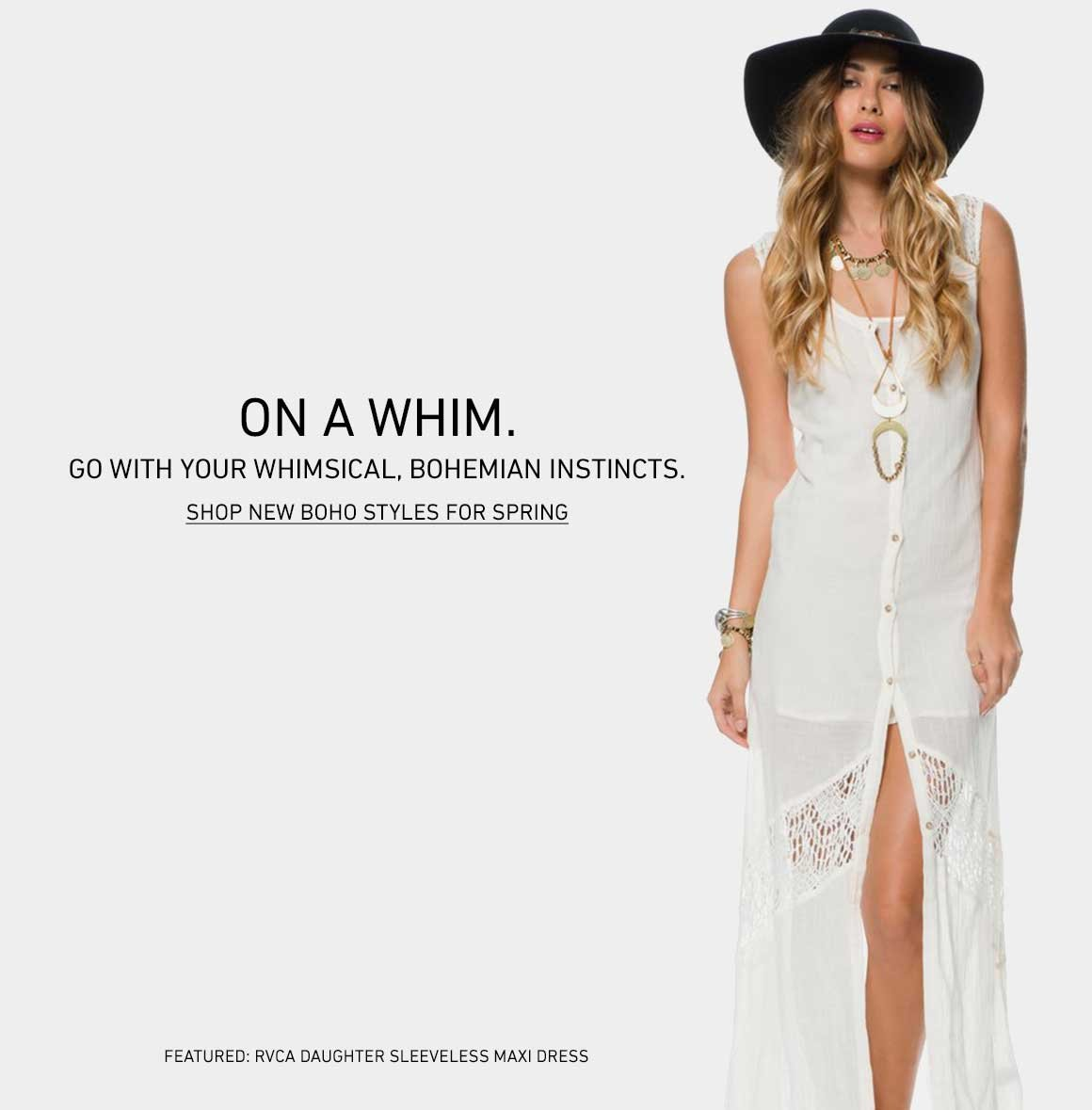 Shop New Boho Styles for Spring